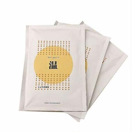 ホットパッチ【温感シート・しょうがパウダー使用】3袋