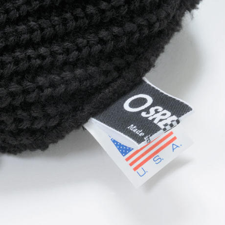 KNIT CAP / BLACK