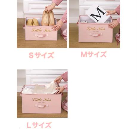 収納BOX  ハードカバー Sサイズ