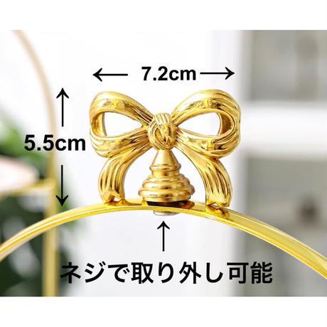 【予約商品11月上旬発送】リボンモチーフスタンド1段【gold】