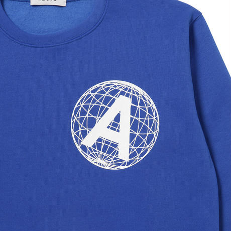 EARTH LINE CREW NECK / BLUE