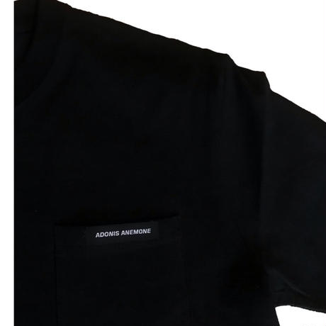 SUPER HEAVY OUNCE POCKET TEE / BLACK