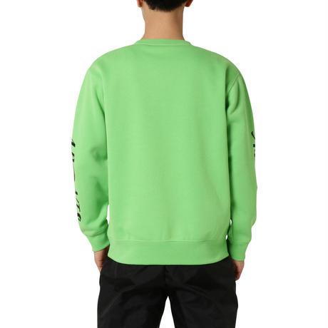 EARTH LINE CREW NECK / GREEN