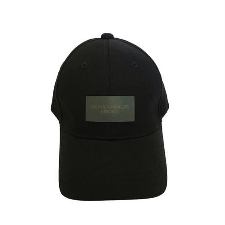 LEATHER LOGO COTTON  CAP