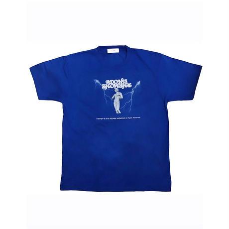 BRONZE STATUE T-SHIRT / BLUE