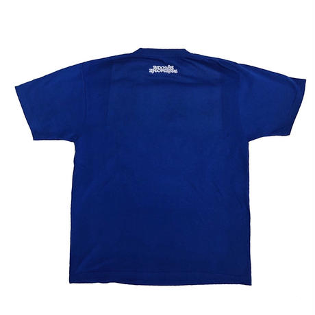 BRONZE STATUE T-SHIRT / BLUE