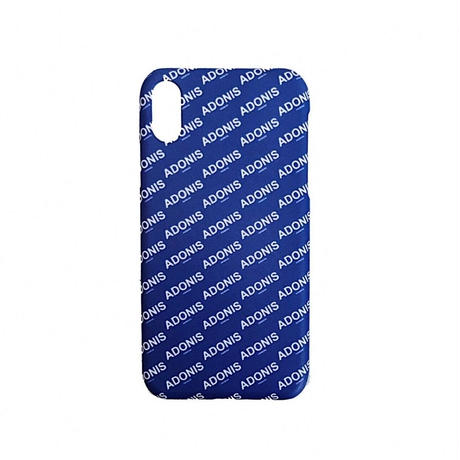 ADONIS ANEMONE LOGO iPhone XR COVER / BLUE
