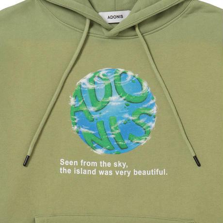 EARTH HOODIE / GREEN