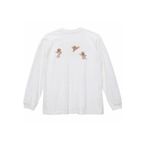 ANGEL L/S TEE / WHITE