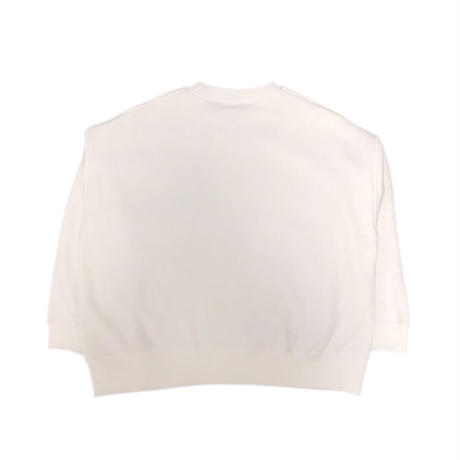 HEAD FOR CREWNECK / WHITE