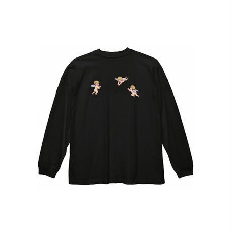 ANGEL L/S TEE / BLACK