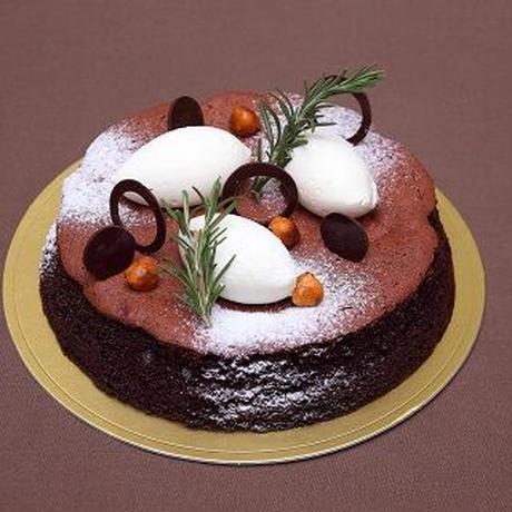 アニバーサリーパーティーセット(ショコラリーシュ6号+オードブル盛り合わせ+花束¥3,300相当)※花束画像はイメージ、ホテルからのプチギフト付き