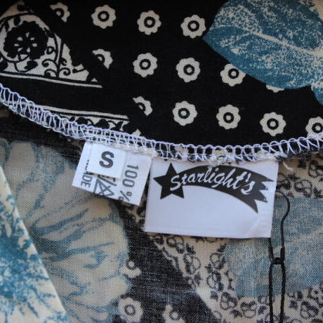 starlight's black and blue bara shirt