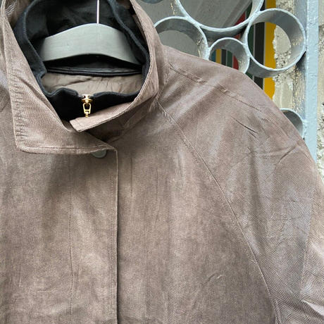 double jacket brown