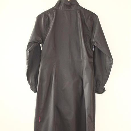 piked black thin jacket