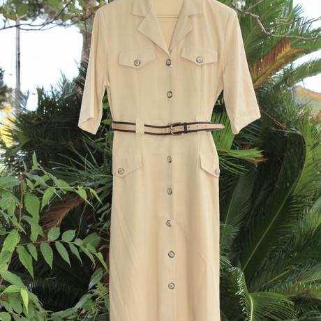 house of fraser light brown safari dress w belt