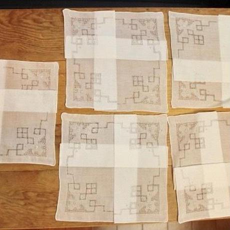 napkins J 5p set