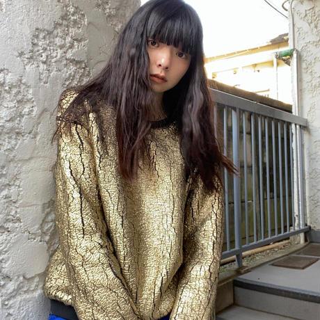gold and black jumper