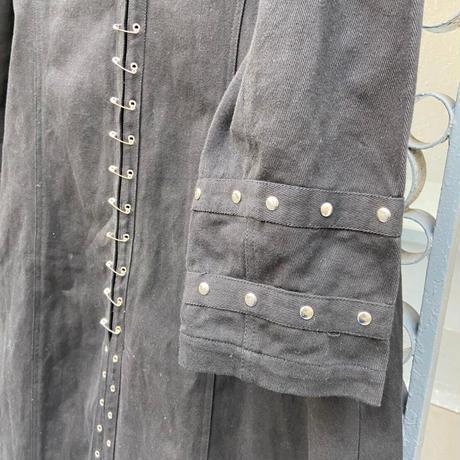 black long design jacket