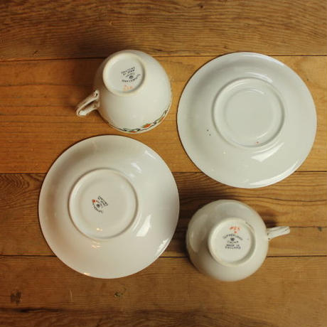 sutherland cup and saucer 2 set B