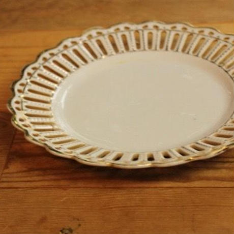 lace plate gold m