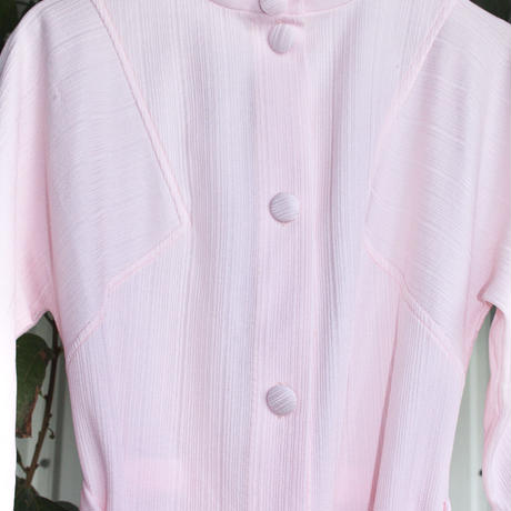 luxaire pink dressing gown robe 1960s