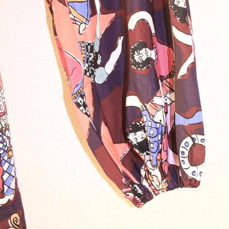 clements ribero curcus print dress