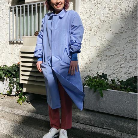 blue medical jacket set up one color
