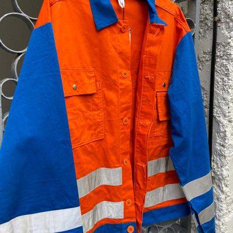 refractor jacket orange and blue