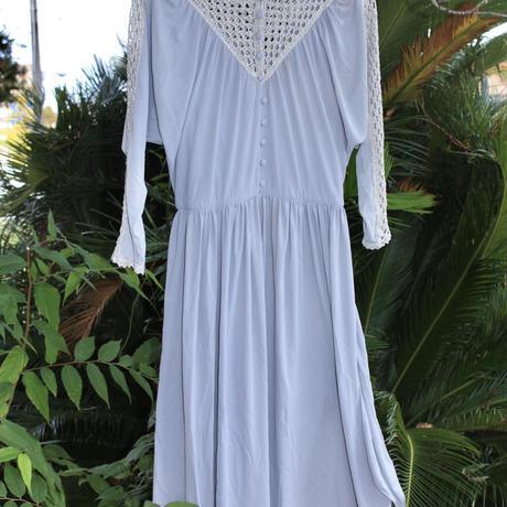 enrichetta silver ami dress