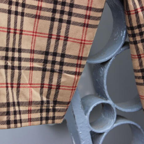 checkered shirt jacket
