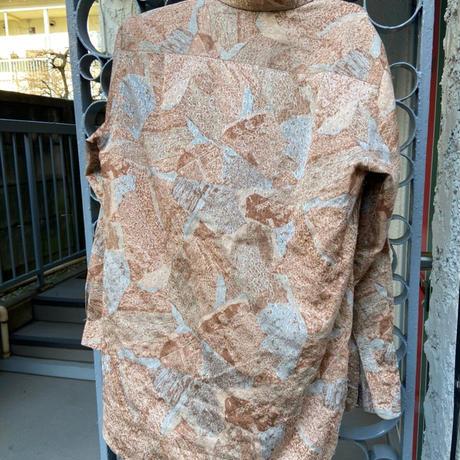 pattern shirts gold