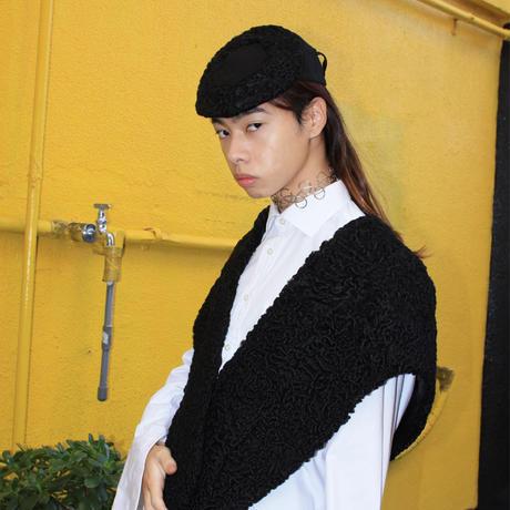 persian lamp shawl + hat