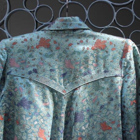 blue china jacket