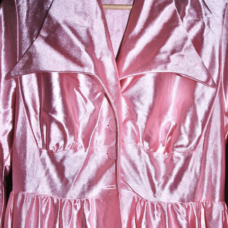 pink sand dressing night gown