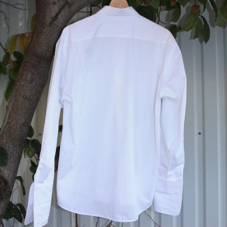 ysl white dressshirts pour homme Long sleeve double cuff