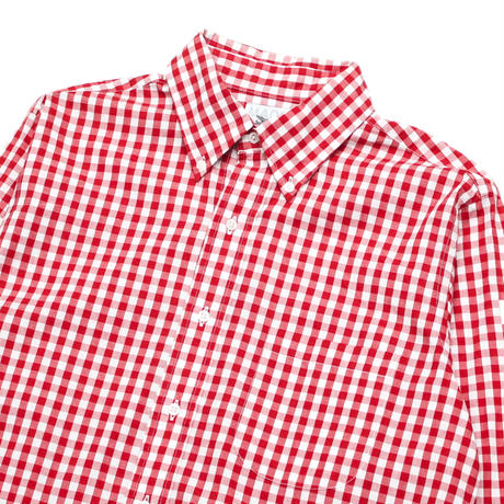 MARK MCNAIRY Gingham Checked L/S Shirt