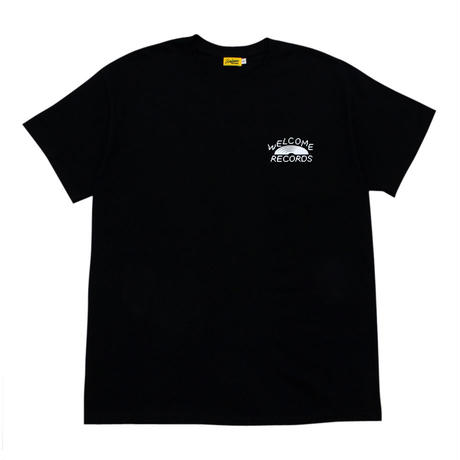 WELCOME RECORDS Cloud Logo Tee [Black]