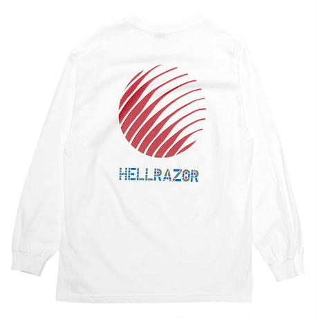 Hellrazor PARCO LOGO  L/S Tee [WHITE]