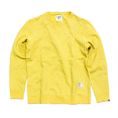 BEDWIN Side Zip Crewneck Sweatshirt