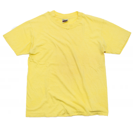 "Single Stitched and Crushed Neck ""Hanes"" Tee"