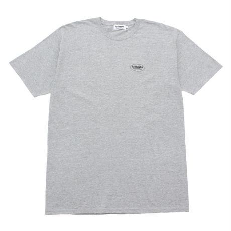 Kompakt Record Bar OG Logo Tee [Gray / Black]
