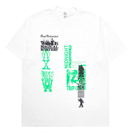 HOMESTUDIO BY SSW Limited Pocket S/S Tee [GRN/BLK]