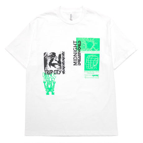 HOMESTUDIO BY SSW Limited S/S Tee [GRN/BLK] 01