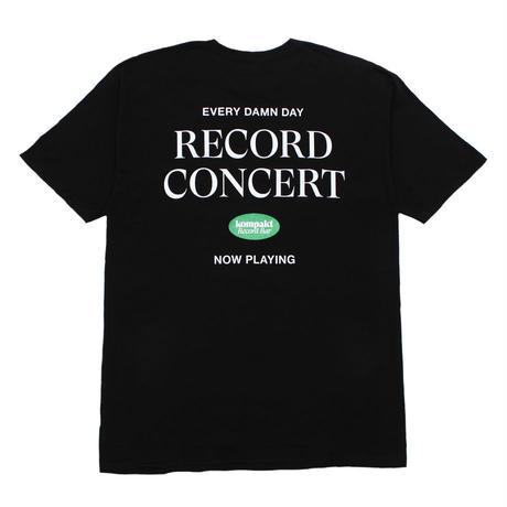 Kompakt Record Bar RECORD CONCERT Tee [Black]