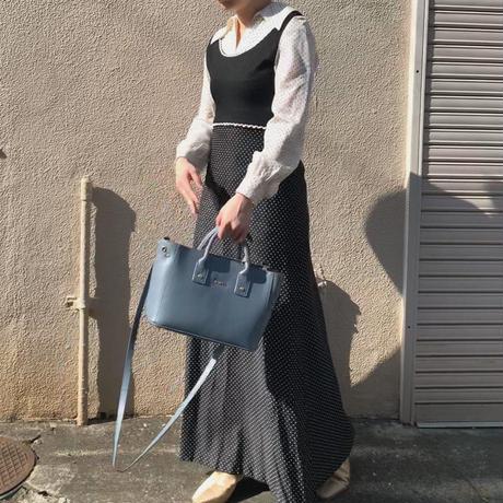 Dot pattern Dress(Europa  vintage)