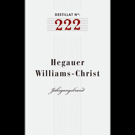 No.222: Hegauer Williams-Christ