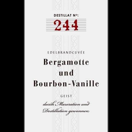 No.244: Cuvée from Bergamot and Bourbon-Vanilla