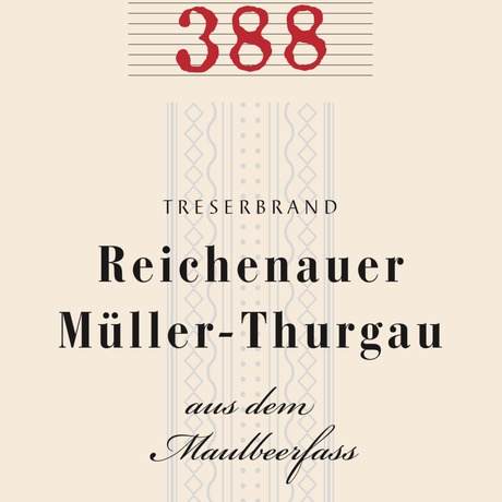 Nr.388  Muller-Thurgau in the mulberry barrel