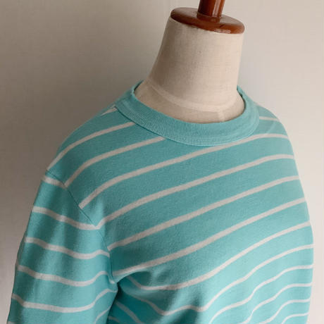 80's USA Striped Sweat Shirt